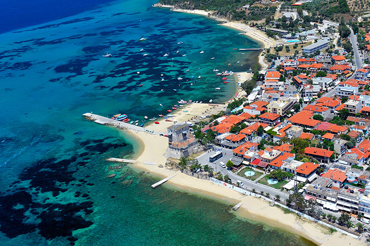 OURANOUPOLI HOTEL OURANOUPOLIS PRINCESS HALKIDIKI GREECE